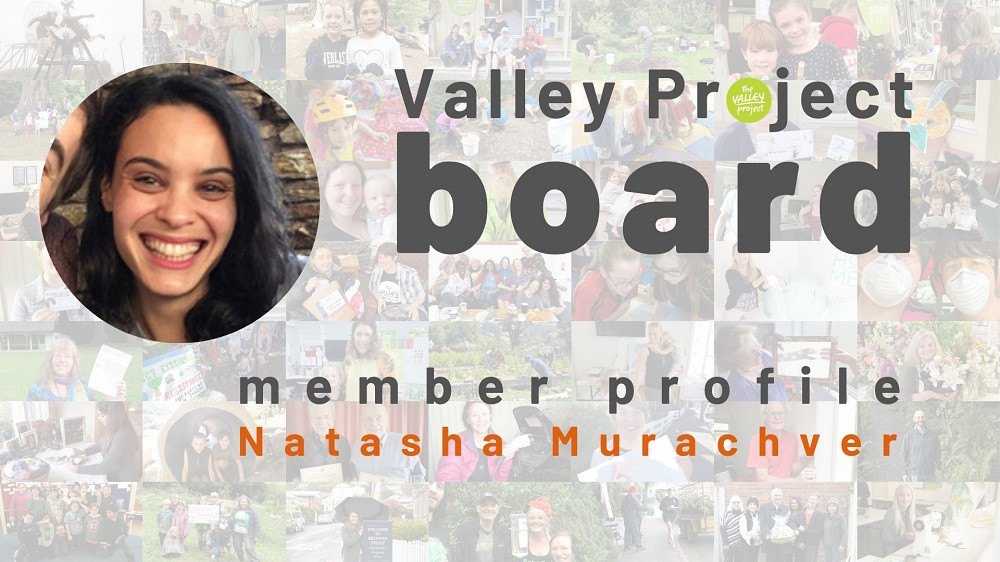 Valley Project executive board member Natasha Murachver