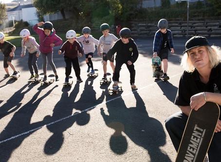 Skating at school: freedom & creativity