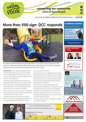 July 2019 Valley Voice community newslet