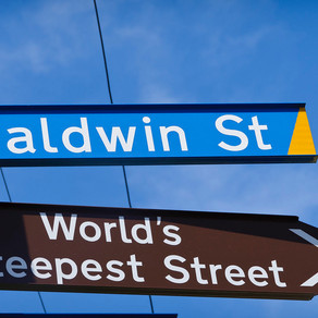 Sign changes for Baldwin Street
