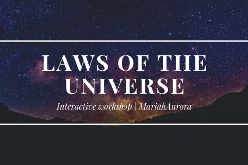 Laws of the Universe Workshop