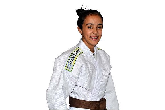 Judogui Profissional Olimpic Banzai Branco