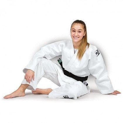 Judogui Semi-profissional Advanced Green Hill Branco