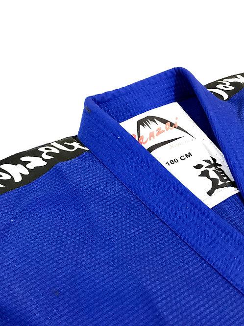 Kimonos Para Judô Trançado Adulto Azul