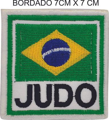 Bordado Brasil judô