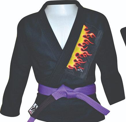 Kimono Fire Jiu jitsu trançado