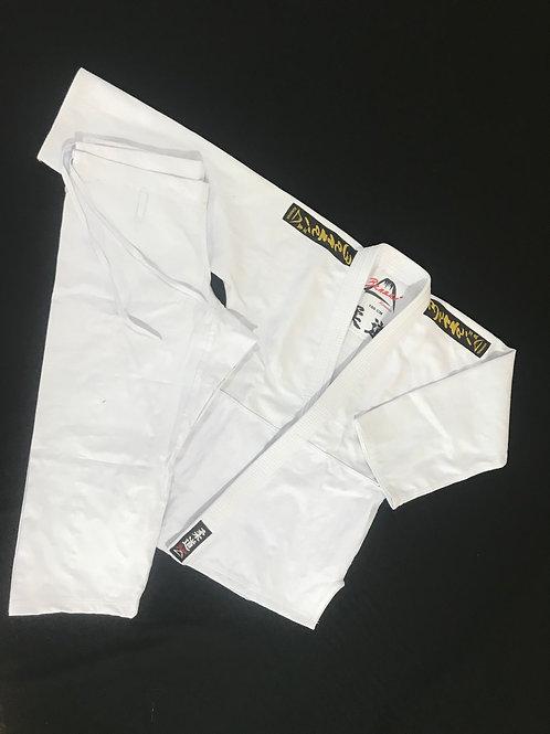 Kimonos Para Judô Trançado Adulto Branco