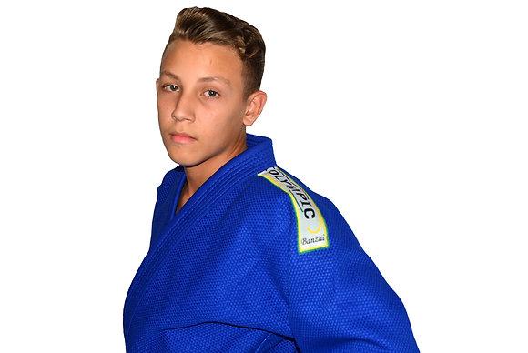 Judogui Profissional Olympic Banzai Azul
