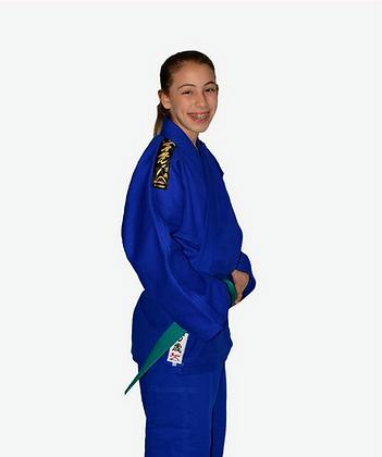 Judogui Trançado Oficial Azul Adulto.