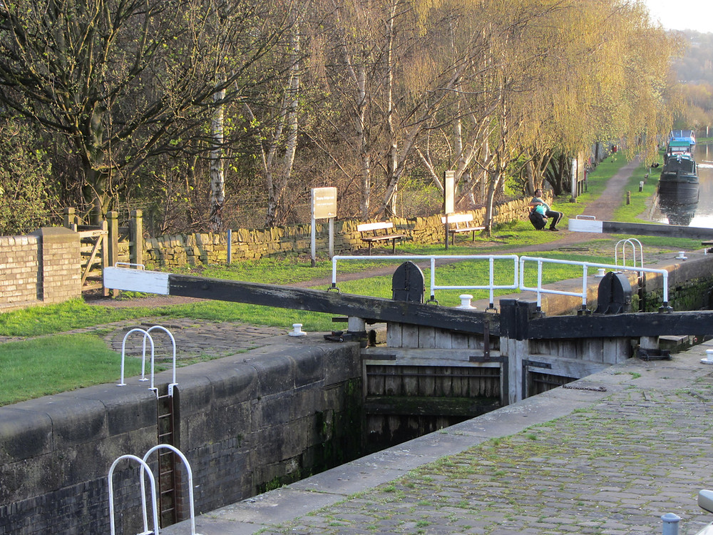 The Lock at Mirfield Canal