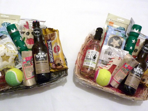 Win a Christmas Festive Doggy Hamper at Beauty Petz