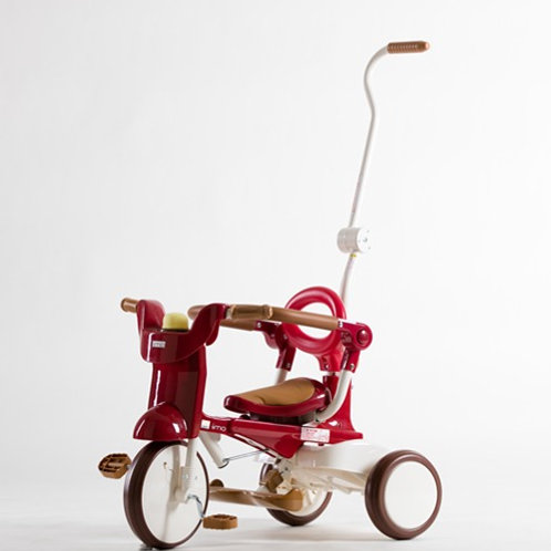 iimo Tricycle #02   (Eternity Red, Comfort Brown, Gentle White)