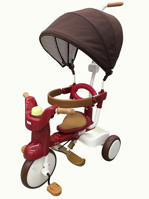 iimo Tricycle #02 SS ( (Eternity Red, Comfort Brown, Gentle White with sunshade)