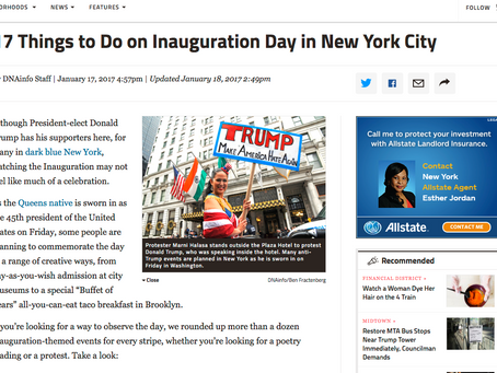 17 Things to Do on Inauguration Day in New York City