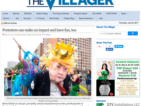 The Villager NYC: How to Put Fun Back into the Resistance #RevolutionIsSexy