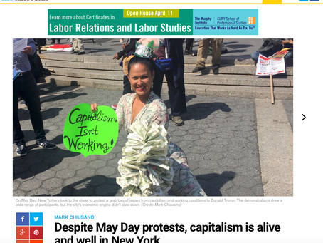 #RevolutionIsSexy in AM New York: Capitalism Busted!