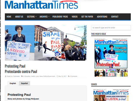 The Manhattan Times: The Pitchforks are Coming! #RevolutionIsSexy
