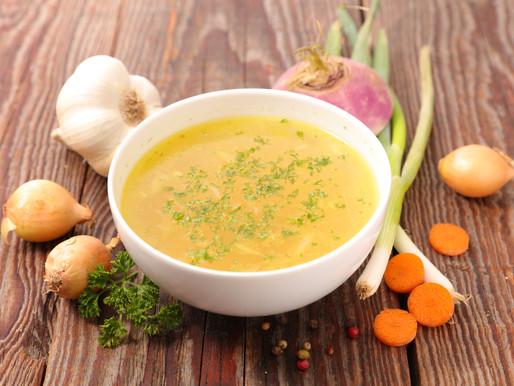 Gemüse-Brühe