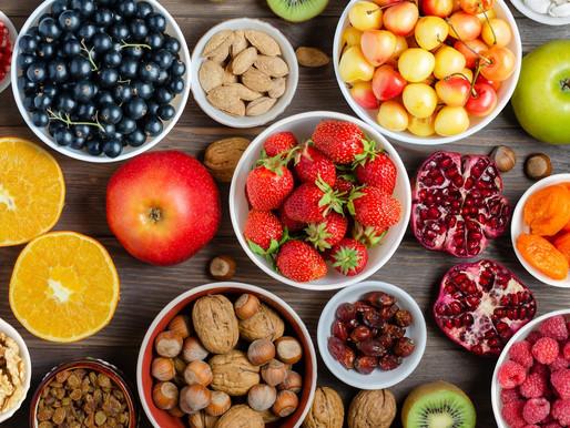 Saison-Kalender Obst & Nüsse