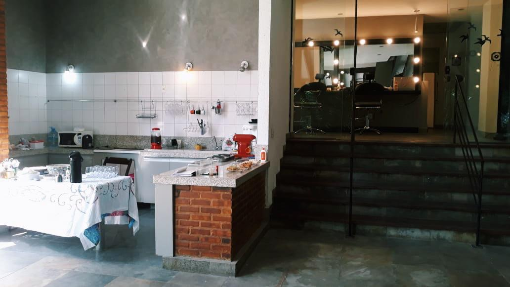 foto cozinha e camarim