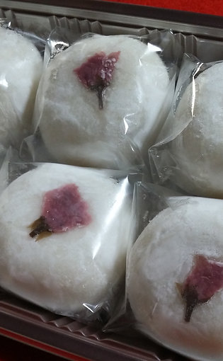季節限定河津桜祭華やか大福6個入