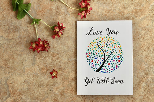 Love You, Get Well Soon, A6 Size