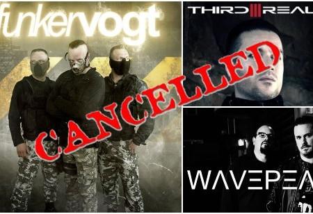 Funker Vogt 2022 show cancelled