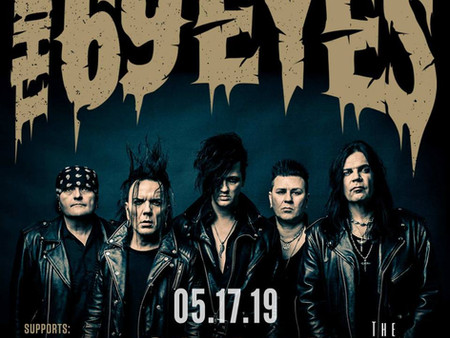 The 69 Eyes tickets nearly sold out!