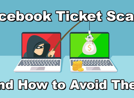Facebook ticket scams - Please be wary!
