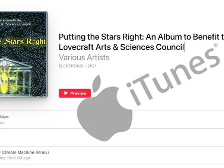 'Putting the Stars Right' now available on iTunes