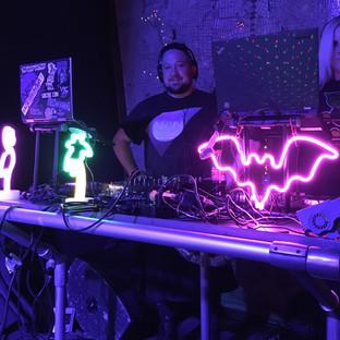 DJ's Chef Tom & EviLiz (Photographer: Trilobyte)