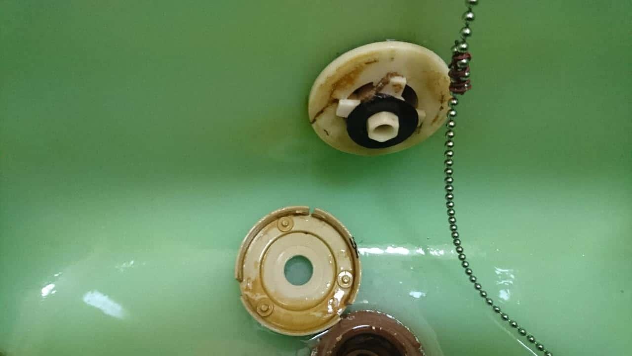 風呂釜循環金具