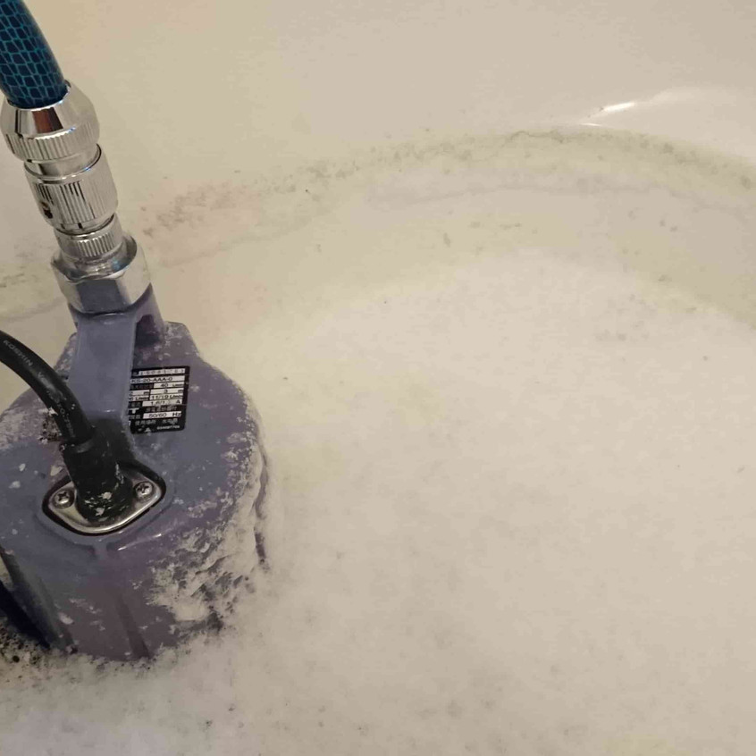 お風呂追い焚き配管洗浄