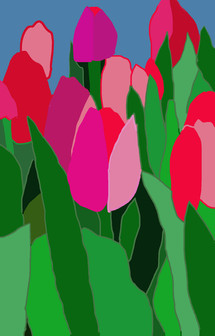 "ILLUSTRATION - ""TULIPS"""