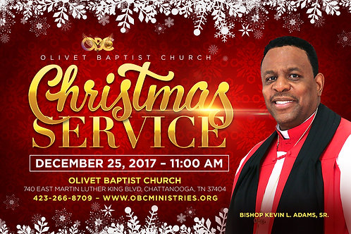 CD of Christmas Service 12-25-17