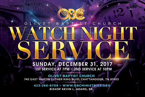 Watch Night DVD 12-31-17