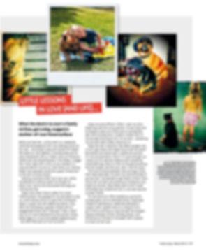 Fresh Living magazine Venessa Dace