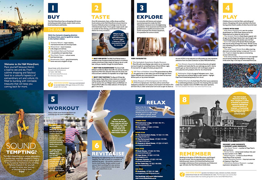 V&A Waterfront brochure