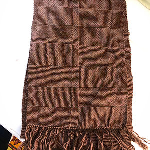 Handwoven scarf