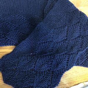Squishy merino/mohair  scarf