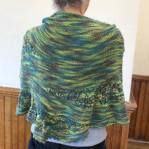 Cotton/bamboo summer shawl