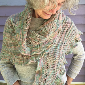 Merino shawl
