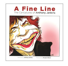 A Fine Line - The Caricatures of Anthony Jenkins: book