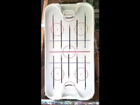Table Hockey Art: The Process