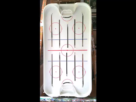 Table Hockey Art: The Process