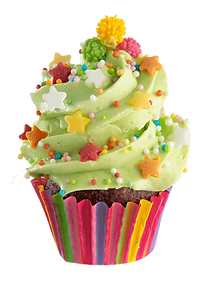 BackDecor weihnachts cupcake