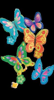 BackDecor Oblaten Schmetterlinge