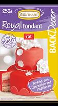 BackDecor Royal Fondant rot