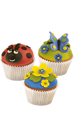 BackDecor Muffins bunter fondant