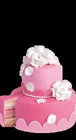 BackDecor rosa royal fondant